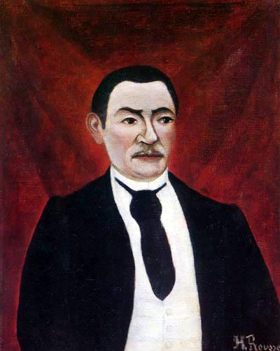 Henri Julien Félix Rousseau - Portrait of Monsieur S.