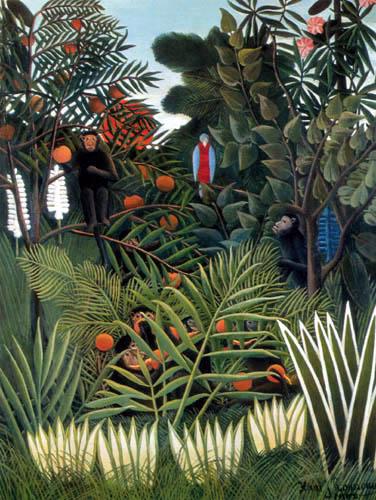 Henri Julien Félix Rousseau - Im Dschungel