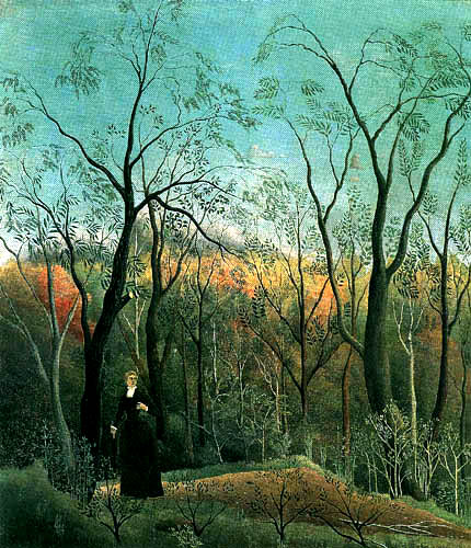 Henri Julien Félix Rousseau - On the edge of the forest