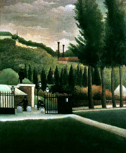 Henri Julien Félix Rousseau - The Toll-House