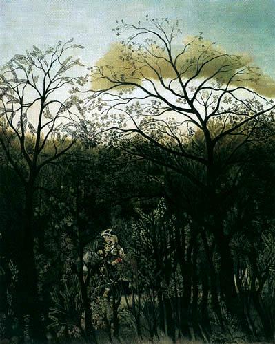 Henri Julien Félix Rousseau - Rendezvous im Wald