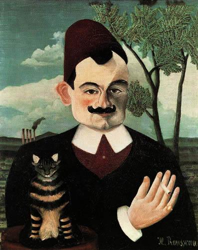 Henri Julien Félix Rousseau - Portrait of Pierre Loti
