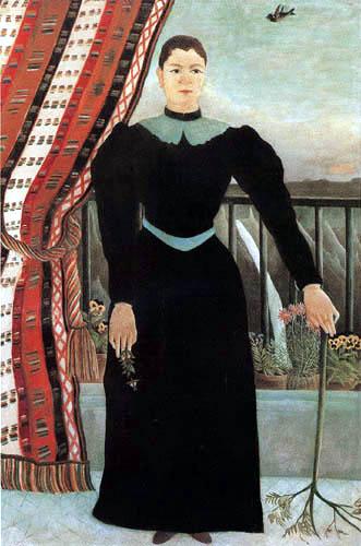 Henri Julien Félix Rousseau - Portrait of a Woman