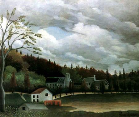 Henri Julien Félix Rousseau - View of Gentilly