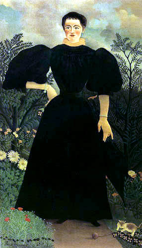 Henri Julien Félix Rousseau - Portrait of a Woman