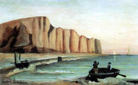 Henri Julien Félix Rousseau - The cliff line