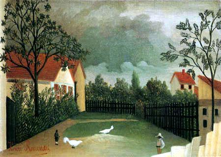 Henri Julien Félix Rousseau - Der Geflügelhof