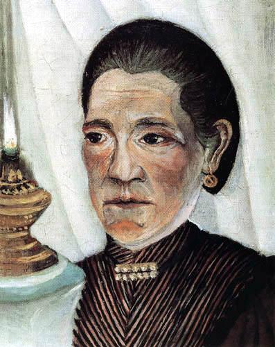 Henri Julien Félix Rousseau - Portrait of his wife