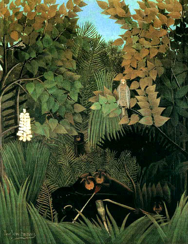 Henri Julien Félix Rousseau - The merry jester
