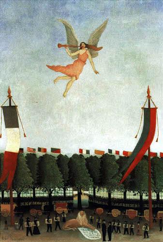 Henri Julien Félix Rousseau - Die Freiheit lädt die Künstler ein