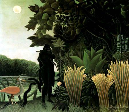 Henri Julien Félix Rousseau - The snake charmer