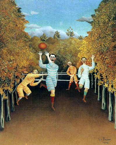 Henri Julien Félix Rousseau - The Football players