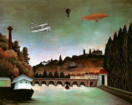 Henri Julien Félix Rousseau - The bridge of Sèvres