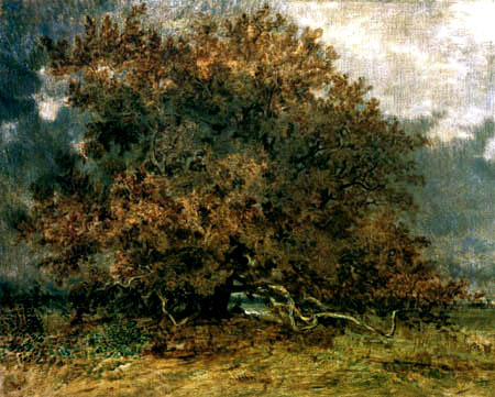 Théodore P. E. Rousseau - The bent tree