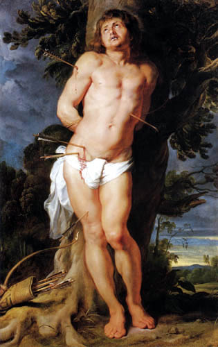 Peter Paul Rubens - Saint Sebastian