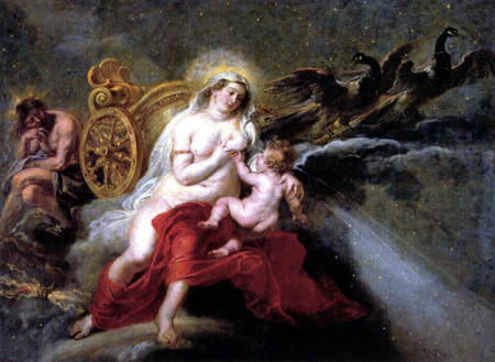 Peter Paul Rubens - The origin of the Milky way