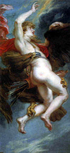 Peter Paul Rubens - Der Raub des Ganymed