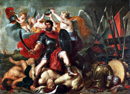 Peter Paul Rubens - Apotheosis of Vincenzo I from Gonzaga