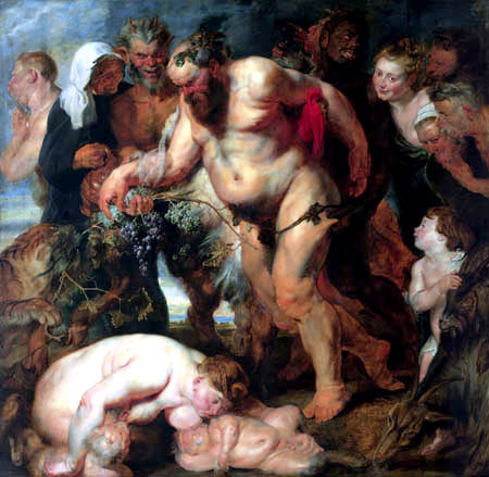 Peter Paul Rubens - Der trunkene Silen