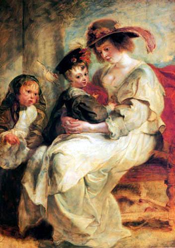 Peter Paul Rubens - Hélène Fourment und ihre Kinder
