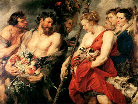 Peter Paul Rubens - Diana, homecoming of the hunt