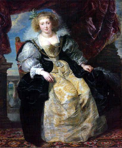 Peter Paul Rubens - Hélène Fourment in wedding dress