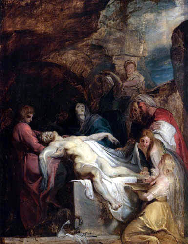 Peter Paul Rubens - The Entombment of Christ