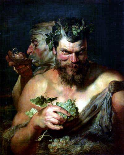 Peter Paul Rubens - Zwei Satyrn