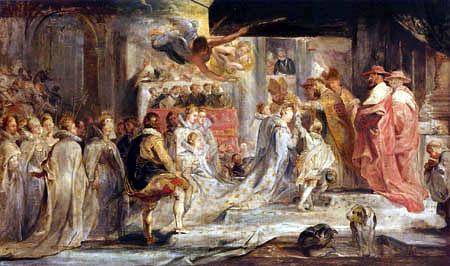 Peter Paul Rubens - Le cycle de Medici: Couronnement de la Reine