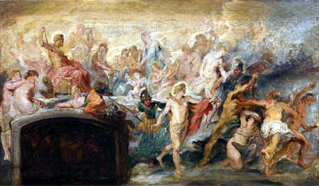 Peter Paul Rubens - Medici-Zyklus: Der Götterrat