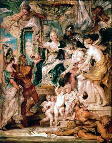 Peter Paul Rubens - Medici-Zyklus: Die glückliche Regierung