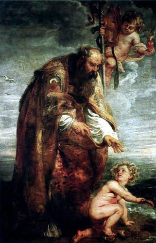 Peter Paul Rubens - Saint Augustin