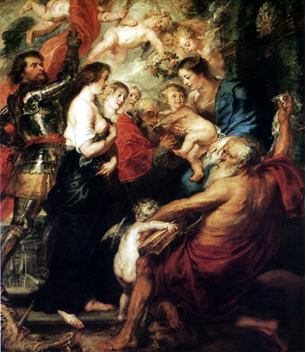 Peter Paul Rubens - Madonna with Saints