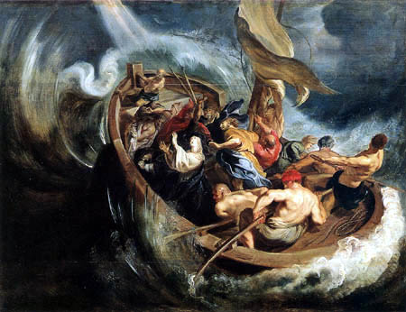 Peter Paul Rubens - The ship miracle