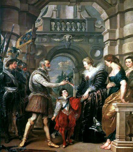 Peter Paul Rubens - Das Leben der Maria von Medici