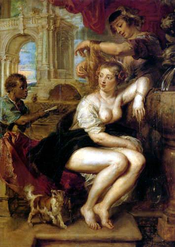 Peter Paul Rubens - Bethsabée à la fontaine