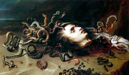 Peter Paul Rubens - The head of the Medusa