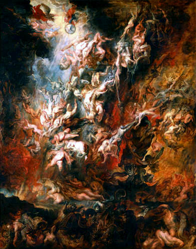 Peter Paul Rubens - The Fall in the Hell of the Condemned Ones