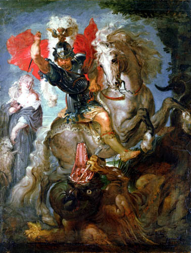 Peter Paul Rubens - Saint George