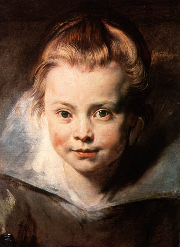 Peter Paul Rubens - Clara Serena Rubens