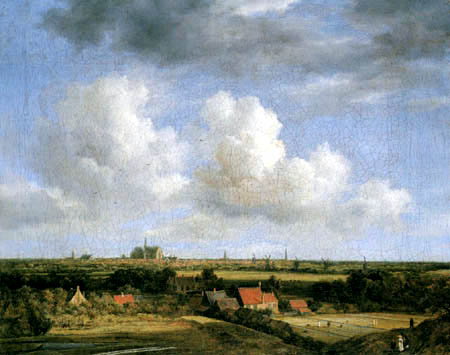 Jacob Isaack van Ruisdael - Haarlem von Westen gesehen