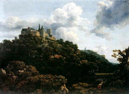 Jacob Isaack van Ruisdael - Castle Bentheim