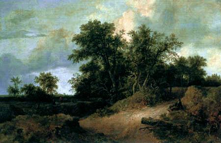 Jacob Isaack van Ruisdael - Dune landscape