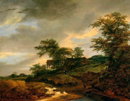 Jacob Isaack van Ruisdael - Way in the dunes