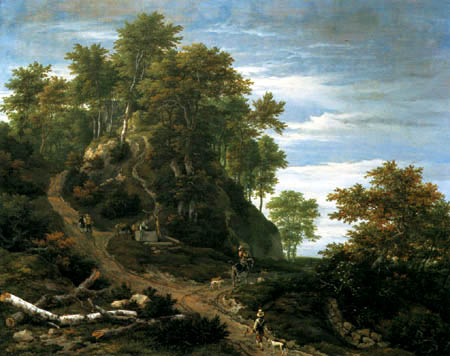 Jacob Isaack van Ruisdael - Mountain landscape