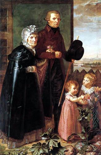 Philipp Otto Runge - Parents of the artist