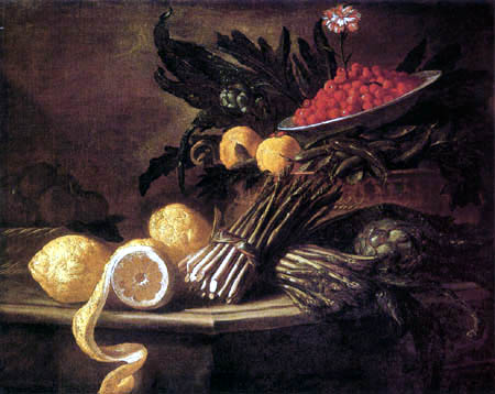 Giuseppe Ruoppolo - Still life with fruits and vegetables