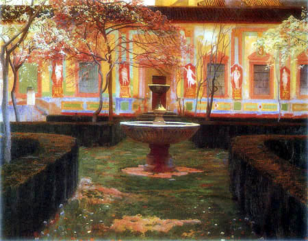 Santiago Rusiñol - Abandoned garden, Granada