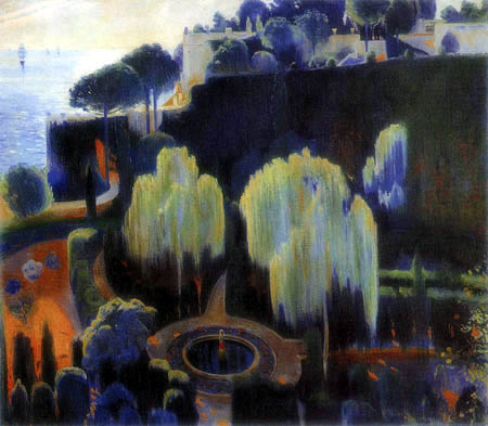Santiago Rusiñol - Garden of the pirate, Majorca