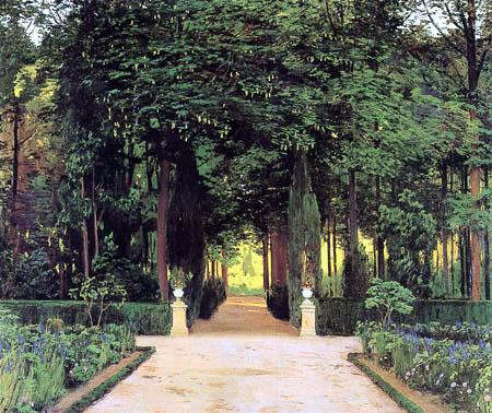 Santiago Rusiñol - The gardens of Aranjuez
